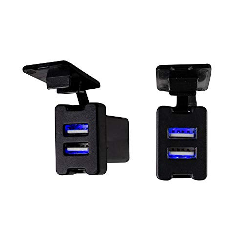 Install Bay IBR66 Toyota Style Knockout USB Car Port