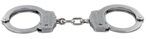 Winchester Model WN40 Stainless Steel Chain Link Handcuffs by Winchester