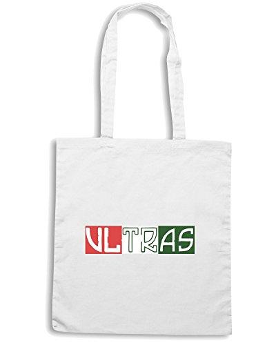 T-Shirtshock - Bolsa para la compra TUM0140ultras italia Blanco