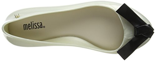 sale Manchester Melissa Women's Space Love Arrow Bow Closed Toe Heels Off-white (Pearl Contrast 52997) clearance perfect cheap visit bumdtBg9