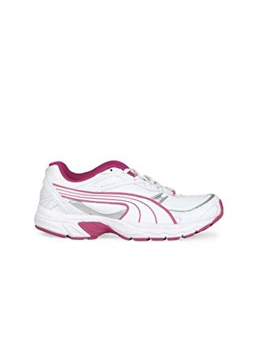 Puma Women s Axis Xt II Wn s White and Pink Sport Running Shoes - 4  UK India (37 EU)  Amazon.in  Shoes   Handbags c2f77f06a3