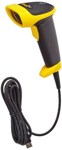 Wasp WLR8950 Bi-Color CCD Barcode Scanner with 6' Cable, 3 mil Resolution, 230-450 scan/s Scan Rate, 5 VDC by Wasp