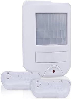 Smartwares SC45 Sensor de Movimiento con función de Alarma, Blanco ...