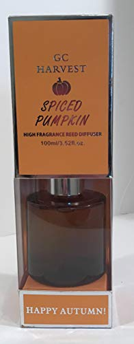 - GC Harvest - High Fragrance Reed Diffuser - spiced Pumpkin