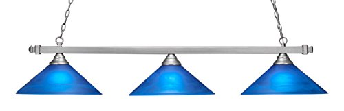 Toltec Lighting 803-BN-415 Square 3 Light Bar with 16