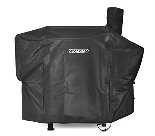 Cloakman Premium Heavy-Duty Grill Cover for Pit Boss 820D/820SC 820 Pro Deluxe Wood Pellet Grill with The Side Tray