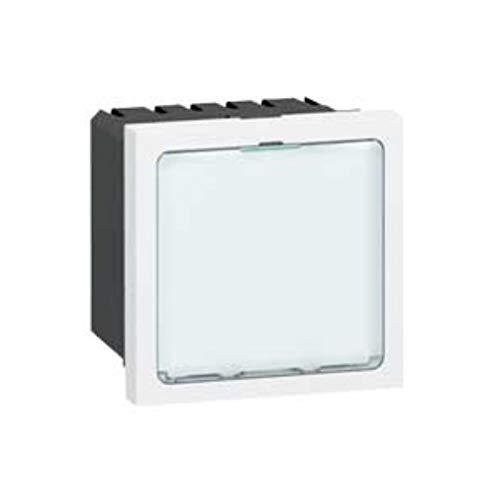 Signal/étique lumineuse /à LEDs blanches 2M Legrand Mosaic