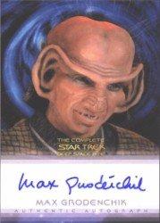 (Quotable Star Trek Deep Space Nine Max Grodenchik Autograph Card)