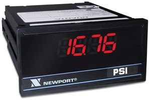 Digital Panel Meter, 1/8 DIN, 4 Digits, DC Current / DC Voltage, Relay Output by Newport Electronics