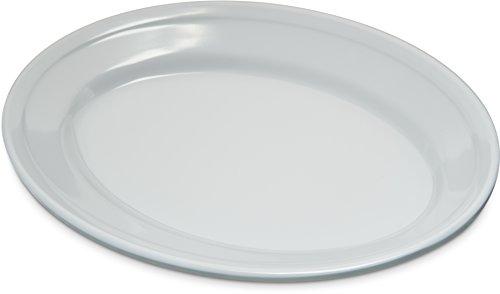 Carlisle 4356302 Dallas Ware Melamine Oval Platter Tray, 9.25
