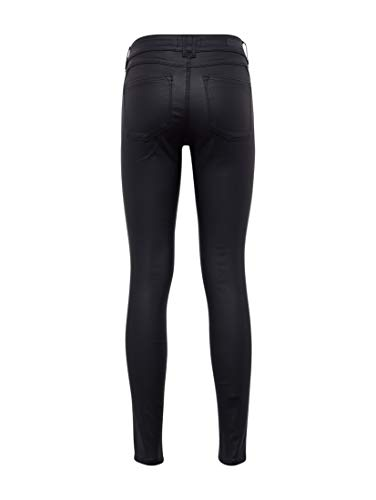 Slim Femme Jean Jona Tom Black 2999 Noir Denim Coated Tailor q1YXwO