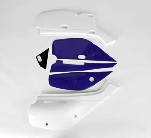 - UFO 88-00 Honda XR600R Side Panel Set (White)