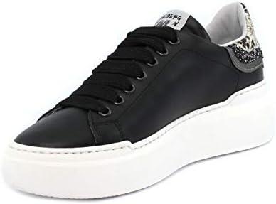 MELINE Sneaker Non 236 VIT. Nero Roccia Panna Glitter Antracite