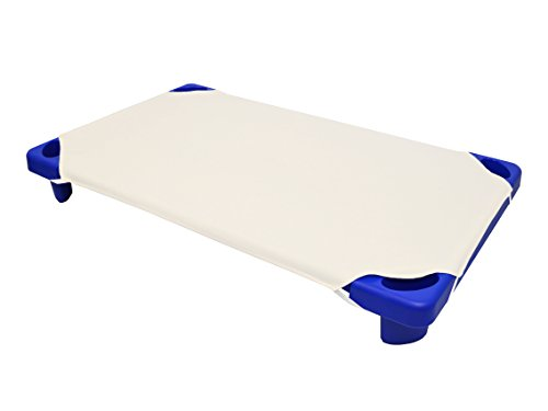 American Baby Company 100% Natural Cotton Percale Toddler Day Care Cot Sheet, Ecru, 23 x 40, Soft Breathable, for Boys and Girls