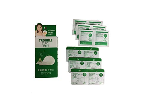 Instant Acne Pimple Patch with Dissolving Hyaluronic Acid Micro Structure - Acropass Trouble Cure