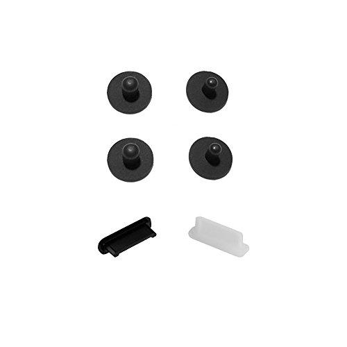 Magic Mini Dust Plugs for Sony NW-WM1A / NW-WM1Z (Black+White)