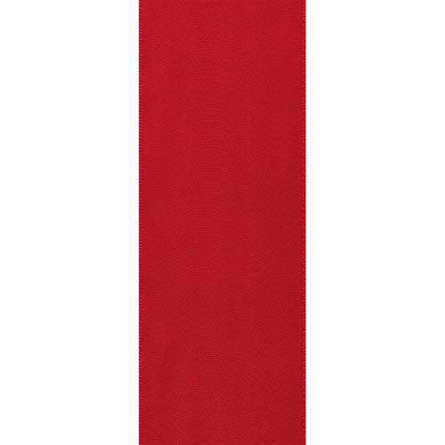 Offray Berwick 2.25'' Single Face Satin Ribbon, Red, 10 Yds by Offray (Image #3)