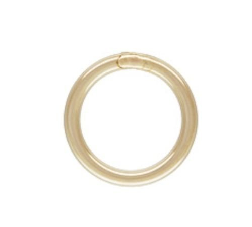 - 14k Gold Filled 22ga 5mm Closed Jump Rings 20pcs