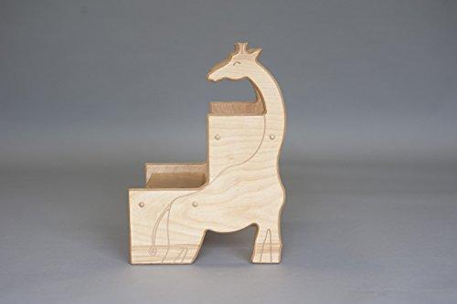 Birch Giraffe Stool; Safari Nursery by Pop-Pop's Children's Furniture Company