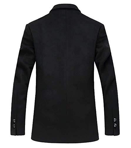 Fit Abbigliamento Corta Classica In Schwarz Lana Completo Qk Blazer Uomo Giacca Casual Tweed Da lannister Slim qCAwOT
