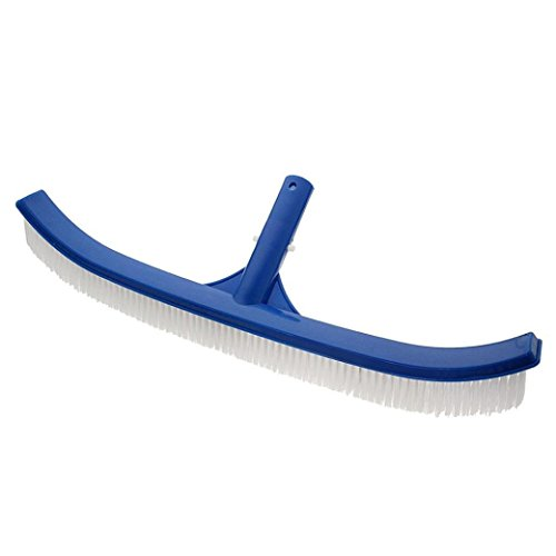 - Dreamyth 18'' Plastic Swimming Pool Cleaning Brush Algae Floor & Wall Handheld Brush Cleaning Tool