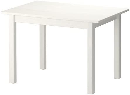 Ikea SUNDVIK Table Enfants s, blanc 76x50 cm: