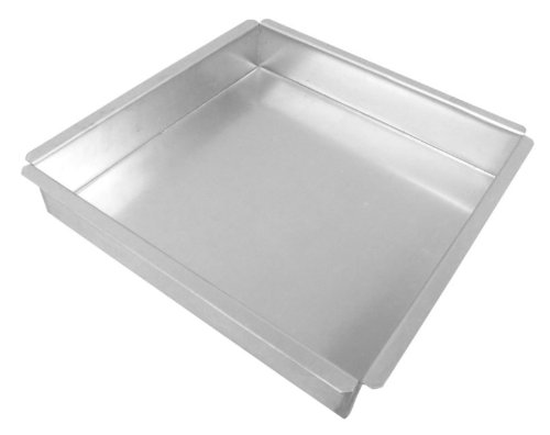 Allied Metal SQ15153 Heavy Weight Aluminum Square Baking/Pizza Pan, 15 by 15 by 3-Inch by Allied Metal