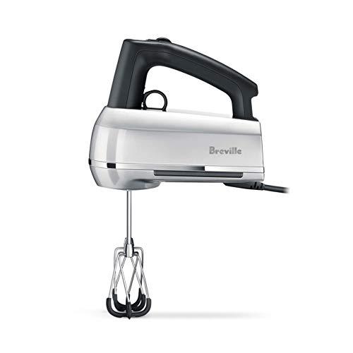 Breville the Handy Mix Scraper Intuitive Ergonomic Control Hand Mixer w/Beater IQ Technology - Silver - BHM800SIL
