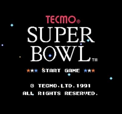 (Tecmo Super Bowl Region Free 8 Bit Game Card For 72 Pin Video Game Player)