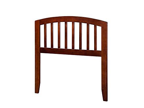 Atlantic Furniture AR288824 Richmond Headboard, Twin, Walnut ()