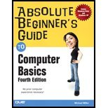 Read Online Absolute Beginning Guide to Computer Basics (4th, 07) by Miller, Michael [Paperback (2007)] ebook