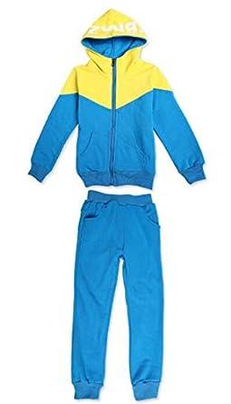 Kinder M/ädchen Jungen Baseball Trainingsanzug Jacke /& Hose Sport Kapuzenpulli Hosen Jogginghose