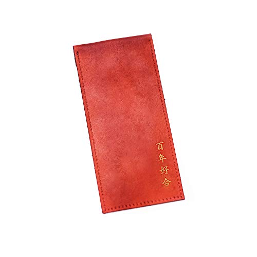 Leather Red Envelope