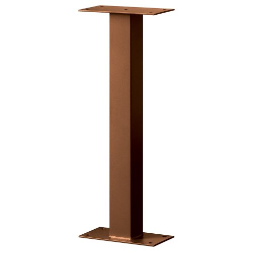 Designer Roadside Mailbox - Salsbury Industries 4365D-COP Standard Pedestal Bolt Mounted for Designer Roadside Mailbox, Copper