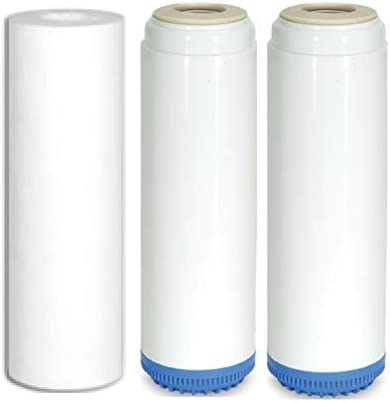 Sediment Fluoride Arsenic Carbon KDF55 filters Standard Sized