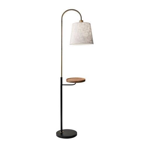 Shelf Adesso (Adesso 3408-21 Jeffrey Shelf Floor Lamp)