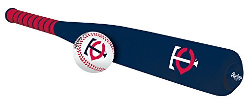 MLB Foam Bat and Ball Set Minnesota Twins,One Size,Blue