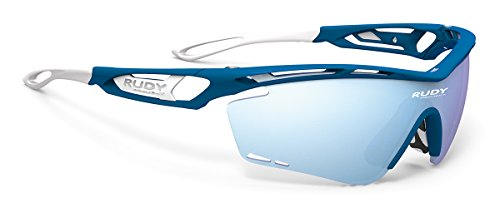Rudy Project Tralyx Blue Metal Matte Frame With Multilaser Ice - Rudy Sunglasses