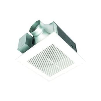 Amazoncom Panasonic FVVQ WhisperCeiling CFM Ceiling Mounted - Panasonic bathroom fan 80 cfm