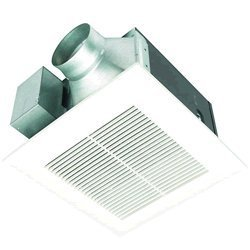 Panasonic FV-08VQ5 WhisperCeiling 80 CFM Ceiling Mounted Fan, White