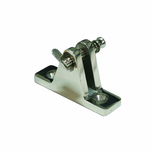 SeaSense Stainless Steel 316 Deck Hinge Mounting Bracket with Removable Pin, 7/8 X 2-Inch