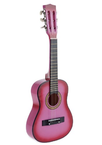 Star Kids Acoustic Toy Guitar 31 Inches Color Pink, CG5126-PK by Star