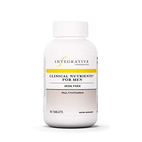 Integrative Therapeutics - Clinical Nutrients For Men - Iron Free Multivitamin for Men - 90 Tablets