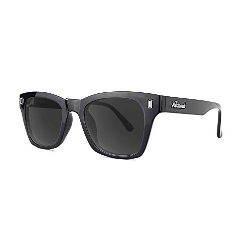Knockaround Seventy Nines Unisex Sunglasses With UV400 Protection, With Glossy Black Frames/Black Lenses