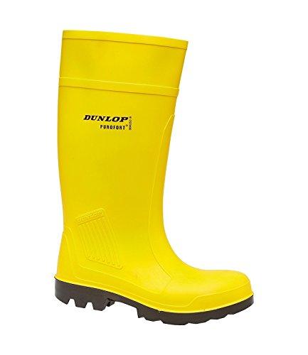 Sicherheitsstiefel Sicherheitsstandard Purofort Dunlop Gelb Herren vollem mit 100vUq