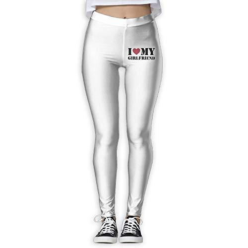 NO2XG I Love My Girlfriend Women's Full-Length Pilates Leggings Wire-Free Pants by NO2XG