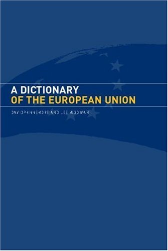 Download A Dictionary of the European Union Pdf