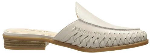 Juanita Leather White Women's Off West Mule Nine UEnqZwpw