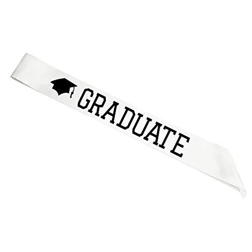 2019 Graduation Sash - Graduate Satin Sash for Supplies - Graduation Party Supplies | Boys and Girls -