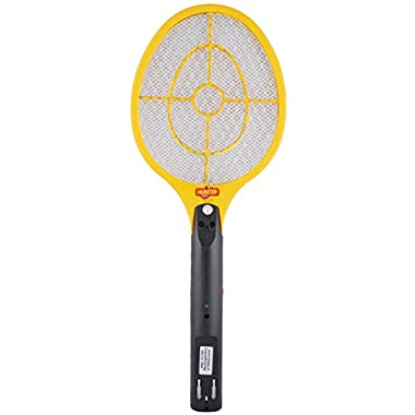 Spartan Hunter Mosquito Resistant Bat/Rechargeable Mosquito Swatter/Zapper Racket (Multicolor, Pack of 1) 6